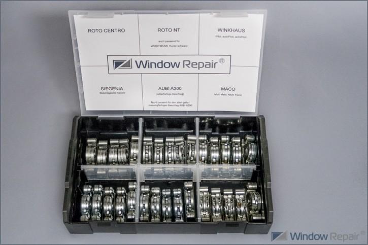 Getriebeschloß Reparaturset für Dornmaß 15mm