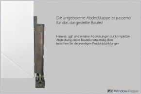 Abdeckkappe DLZ12205W für Ecklager 3DV100