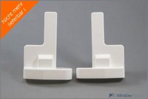 Abdeckkappe für Patio-Laufwerk weiß
