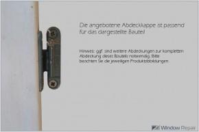 Abdeckkappe MV für Mittelverschluß