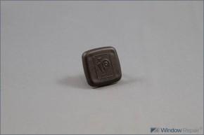 Bandkappe 2-tlg. Türband 3 BO (ca.29x28mm)