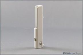 Ecklagerband PVC 3mm Zapfen weiß