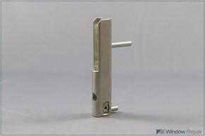 Ecklagerband PVC 5mm Zapfen silberfarbig