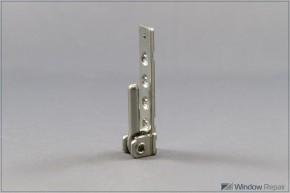 Ecklager PVC 3mm Zapfen silberfarbig