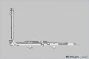 Kippverriegelung VSU/K 56+ 1S 1R