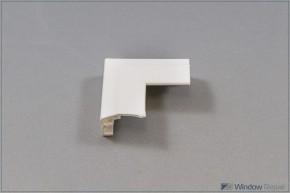 Flügel-Eckverbinder oben, weiß