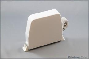Maxi-Gurtwickler weiß mit 6m Gurtband