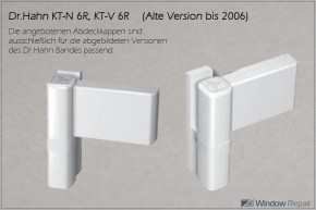 Bandkappe HD-PE - Version bis 2006 (ca.24x26mm)